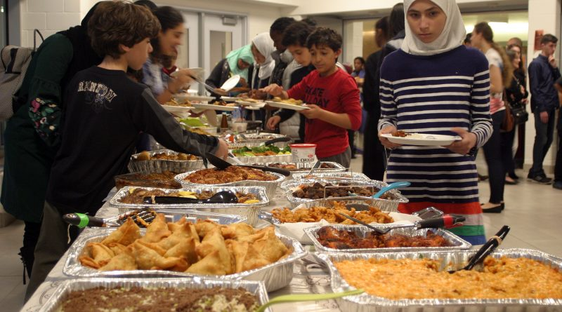 West Carleton Secondary School hosted more than 200 people for the school's Muslim Youth Association's second annual Iftar. Photo by Jake Davies