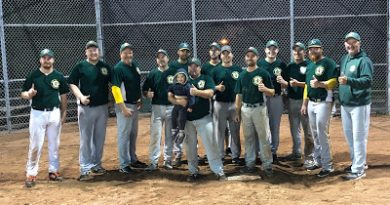 The Ottawa Valley A's won the Pickering Invitational Fastball Tournament last weekend. Courtesy EOFL