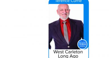 West Carleton Online history columnist Terence Currie passed away yesterday at the age of 80. Courtesy WC Online
