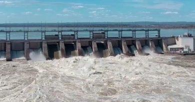 The Carillon Hydro Dam.