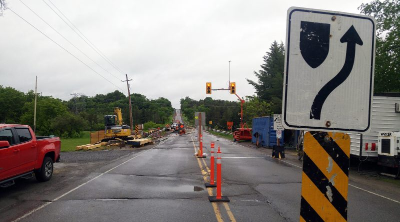 Roadwork in West Carleton is set to begin in May. Photo by Jake Davies