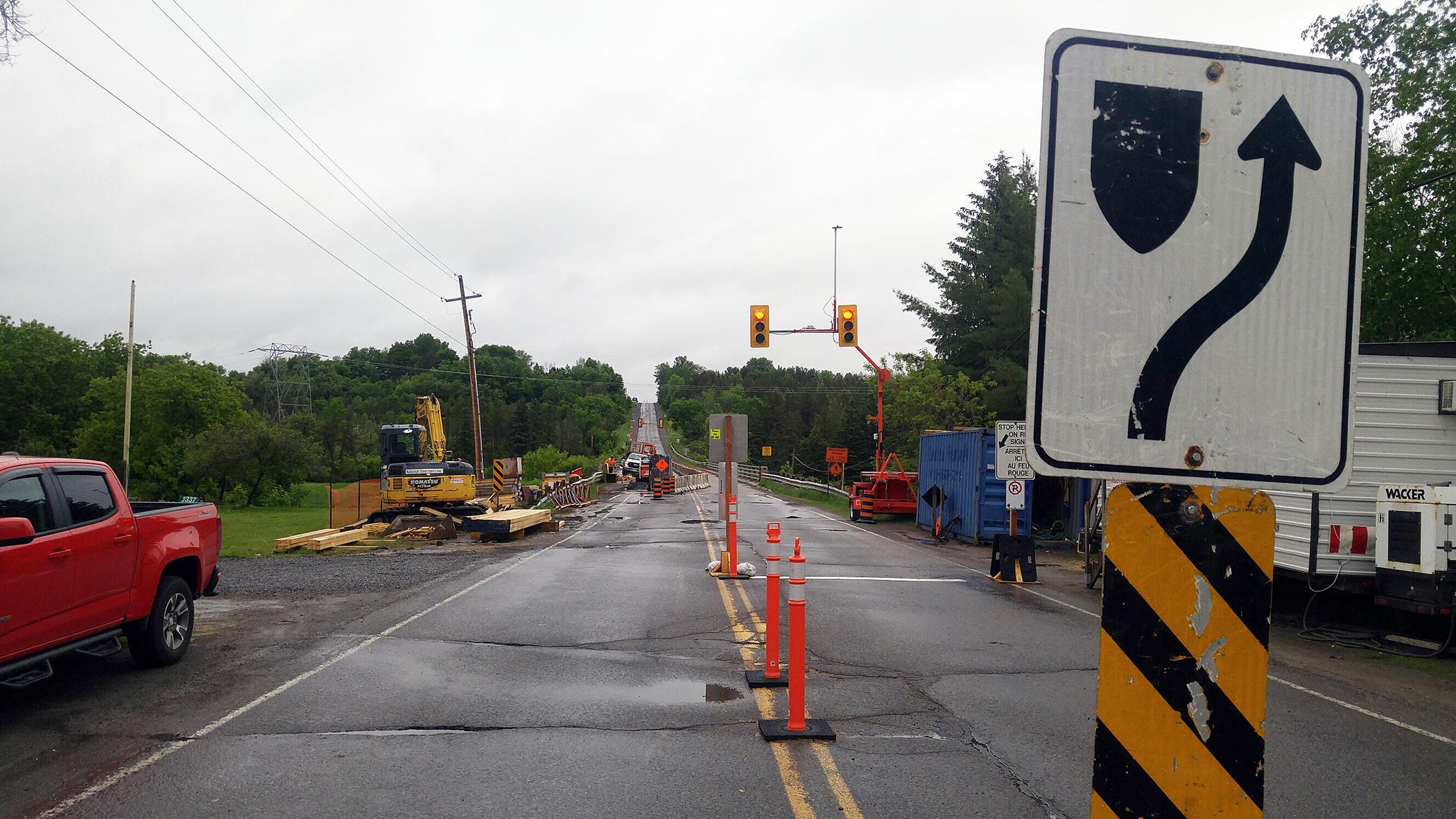 Summer roadwork in West Carleton