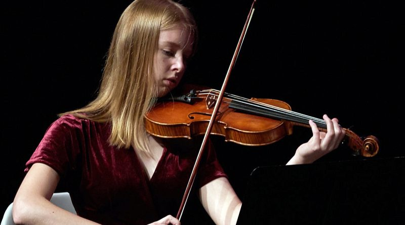 Kinburn's Charlotte Van Barr will be touring with the National Youth Orchestra of Canada. Courtesy the Van Barr family