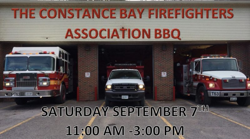 The firefighters will be cooking for you next Saturday. Courtesy OFS Station 64