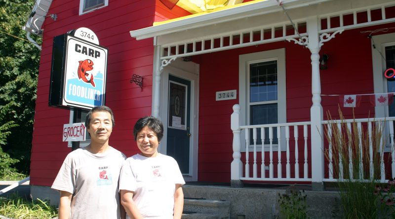 The Carp Foodliner's August Guo and Kathy Xu in their brand new location at 3744 Carp Rd. Photo by Jake Davies