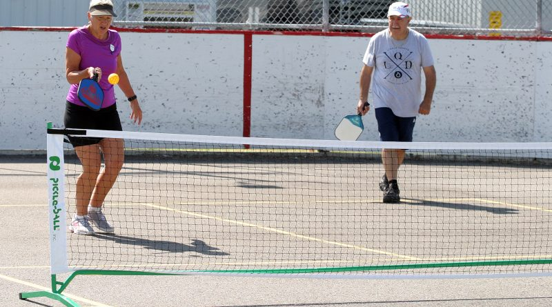 A couple of Carp residentls play Pickleball