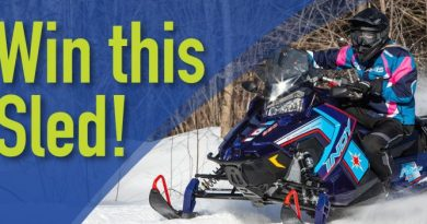 The WCSTAI hopes you win this sled. Courtesy WCSTAI