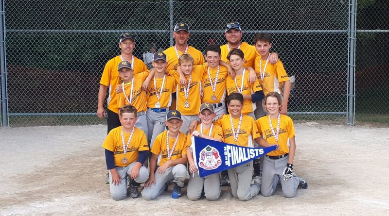 The West Carleton Electric U12 game was one win away from a provincial A championship on the weekend. Courtesy WC Electric