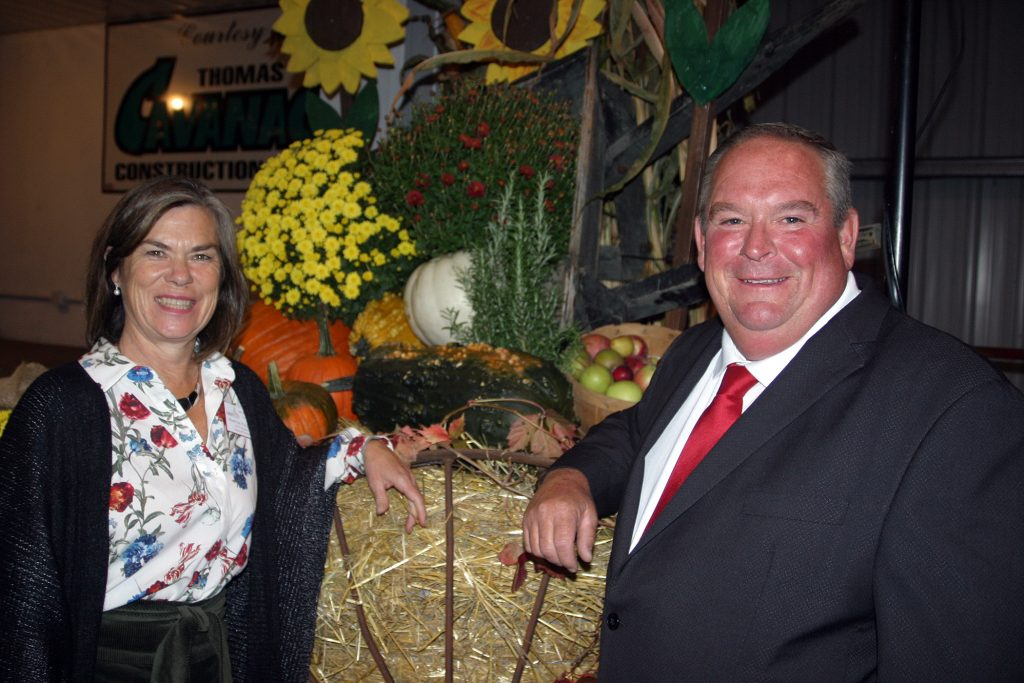 Carp Fair 2019 Homecraft President Martha Palmer and Agriculture President Doug Norton hosted Homecoming in the show barn last night. Photo by Jake Davies