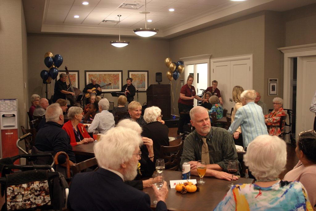 Live music was also part of the celebration as more than 150 people attended the Carp Commons Retirement Village official opening Oct. 2. Photo by Jake Davies