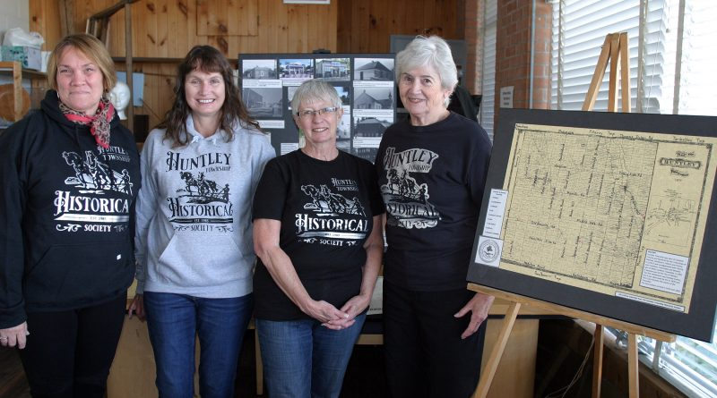 From left, the HHS' Janice Bradley-Guillemot, Sandra Greene, Leslie Richardson and Joan Caldwell pose for a photo during last Saturday's Open House and Displays. Photo by Jake Davies