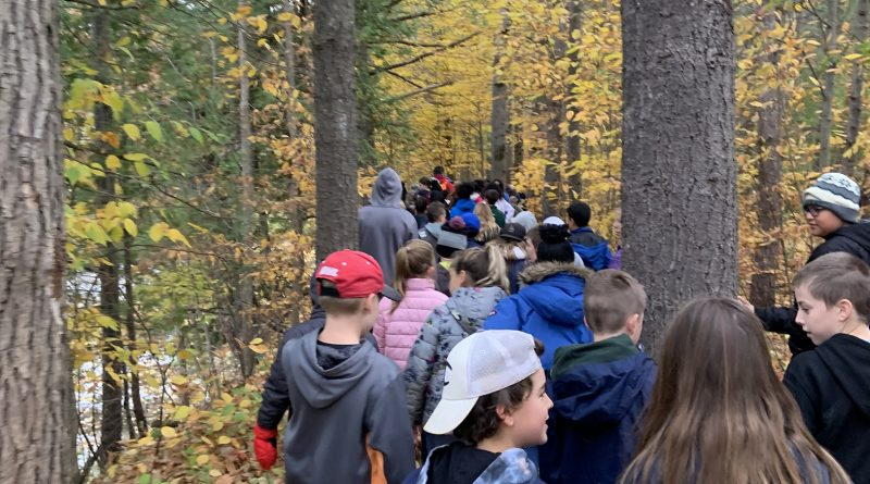 Vanier Catholic school students got to see why Harbour students love attending a rural school on Oct. 22. Courtesy St. Michael's Fitzroy Harbour
