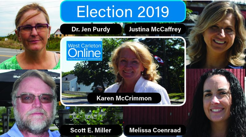All five Kanata-Carleton candidates answered West Carleton Online's Kanata-Carleton election survey made up of questions raised from our subscribers.