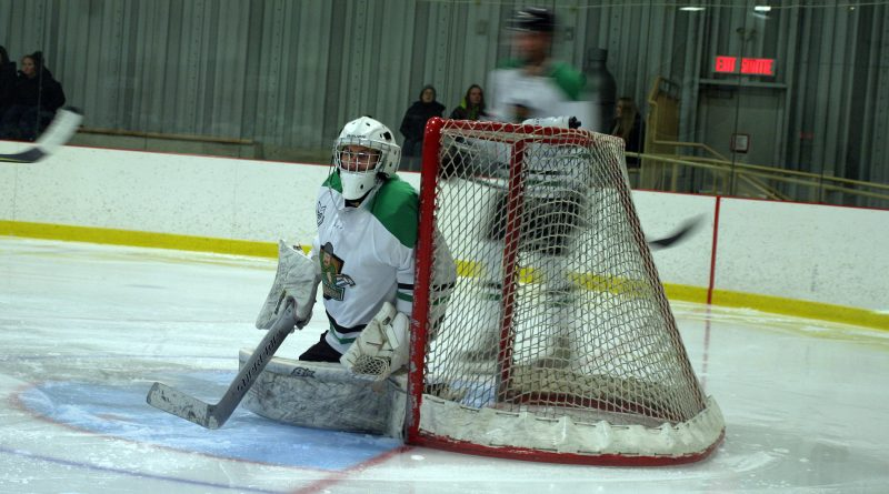 Rivermen goalie Kirk Davies sit in second place in the EOHL. Photo by Jake Davies