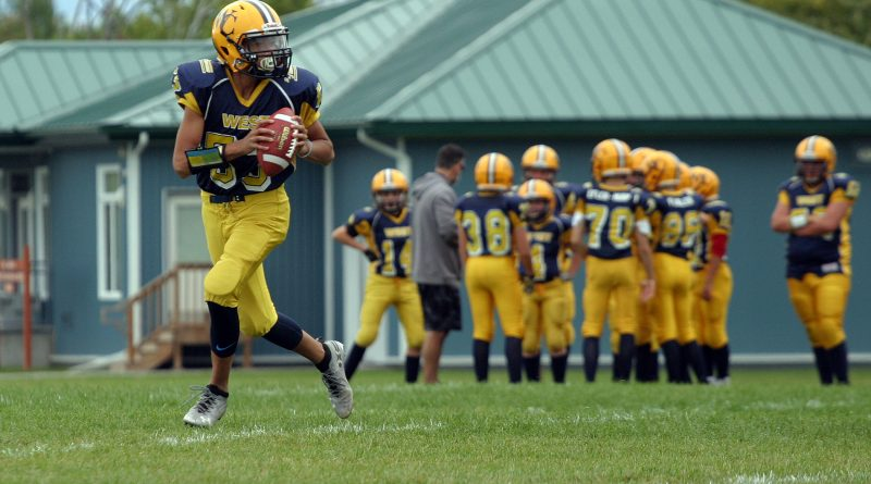 The West Carleton Wolverines NCAFA season has come to an end as the peewees and tykes are eliminated form the playoffs. Photo by Jake Davies