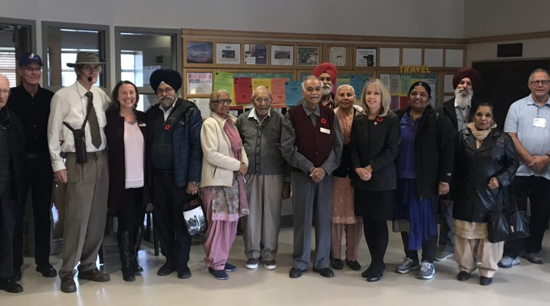 MPP Dr. Merrilee Fullerton announces more than $52,000 in provincial funding for the Kanata Seniors Centre. Courtesy MPP Fullerton