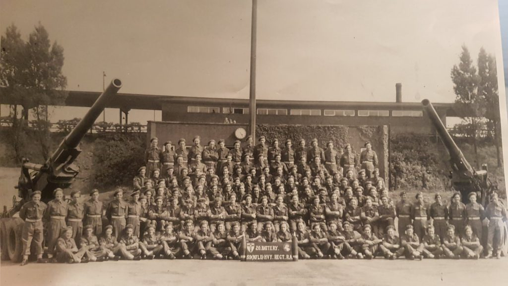 The 59th Newfoundland Heavy Regiment. Courtesy Const. Barry