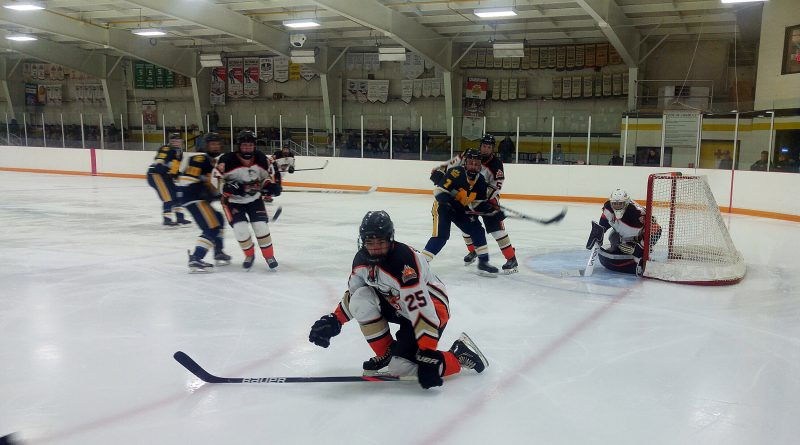 The West Carleton Inferno are in playoff position but have a ways to go to cement that spot yet. Photo by Jake Davies