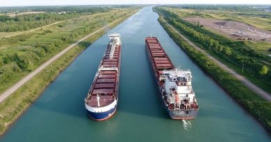 The 2019 shipping season in the St. Lawrence Seaway officially ends today. Courtesy the Great Lakes Seaway Partnership