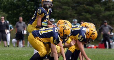 The Wolverines touch football season has been cancelled and tackle football may be delayed. Photo by Jake Davies