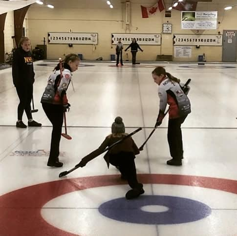 The HCC's Team LIKE in action in Pembroke Nov. 30. Courtesy Team LIKE