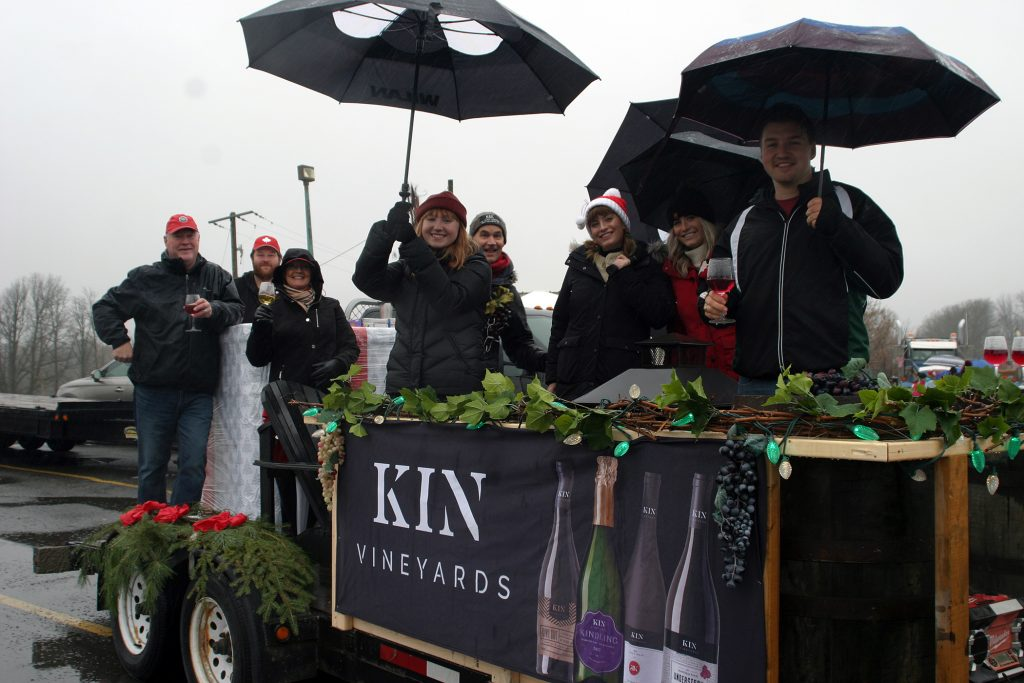 KIN Vineyards with owners Lorraine Mastersmith and Shaun McEwan at left.
