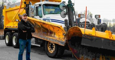 City of Ottawa snow truck operator Mike Lepage shares his 40 years' experience, Courtesy City of Ottawa