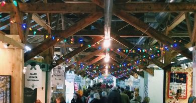 The Carp Farmers' Market Christmas Market runs today and tomorrow. Courtesy the Carp Farmers' Market