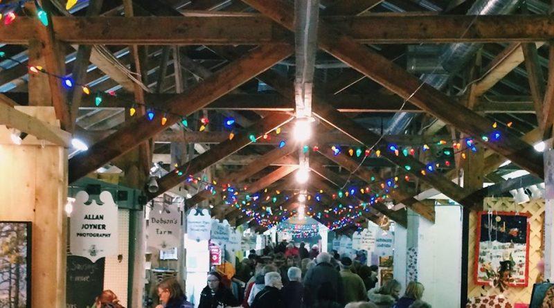The Carp Farmers' Market Christmas Market runs today and tomorrow. Courtesy the Carp Farmers' Market
