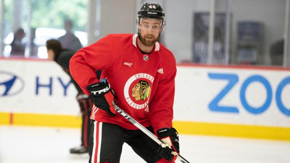 Carp native Calvin de Haan's first season with the Chicago Blackhawks has come to an end following a shoulder injury requiring surgery. Courtesy NHL.com