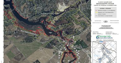 The new floodplain mapping of the Mississippi River through West Carleton was available for input at two separate information sessions last week. Courtesy the MVCA