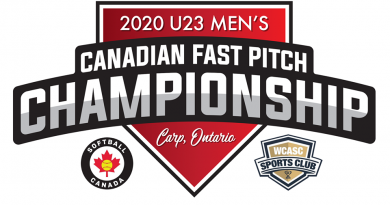 202 U23 Men's Canadian Fast Pitch Championship poster