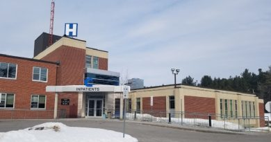 Arnprior hospital closed its doors to inpatient unit visitors for 12 days due to an influenza outbreak. Courtesy Lesley Henry