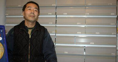Carp Foodliner August Guo says the cost of selling cigarettes is making an important part of his business prohibitive. Photo by Jake Davies