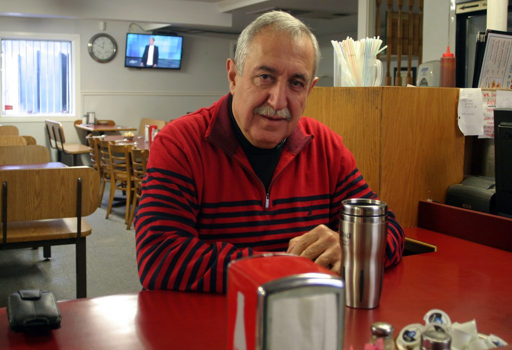 Coun. Eli El-Chantiry sat down with West Carleton Online Jan. 3 at his old stomping grounds, The Lighthouse Restaurant, to talk about the year that was and the year that will be. Photo by Jake Davies
