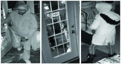 The Ottawa police released these photos of the suspects they believe were involved in the Dec. 5 break and enter. Courtesy the OPS