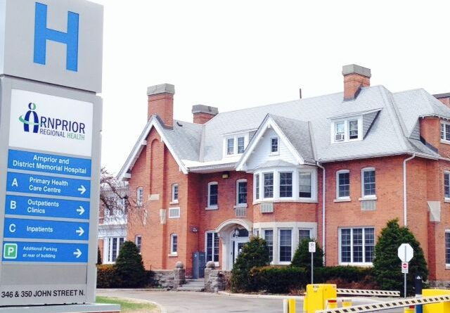 Arnprior Regional Health's Patient and Resident Services vice president says the hospital is well prepared to deal with the coronavirus if it should appear. Courtesy ARH