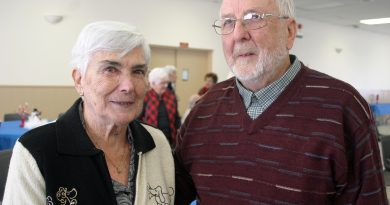 Dunrobin's Gord and Lorraine Wright have been married for 63 years and Valentine's Day is nothing special, just another day for romance. Photo by Jake Davies