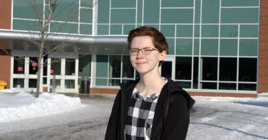 West Carleton Secondary School's Michelle Russett, a Dunrobin resident, is joining West Carleton Online for the remainder of the school year as our reporter on the youth beat. You can bet she will out and about in the community covering all things West Carleton. Photo by Jake Davies