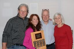 Team McLean had a grueling seven-game bonspiel and brought home the Open B Division Championship. Courtesy the HCC
