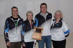 Team Cormier won the Senior A Divsion. Courtesy the HCC