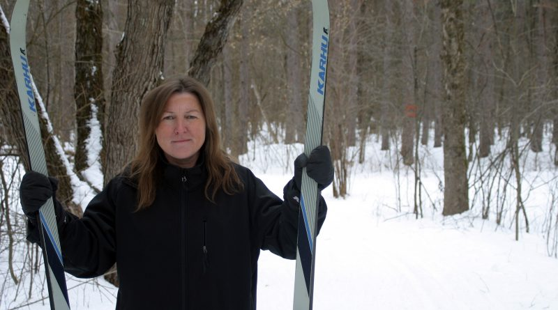 The WCNSC's Tammy Meagher says the ski season in Fitzroy Park has just started and it's beautiful. Photo by Jake Davies