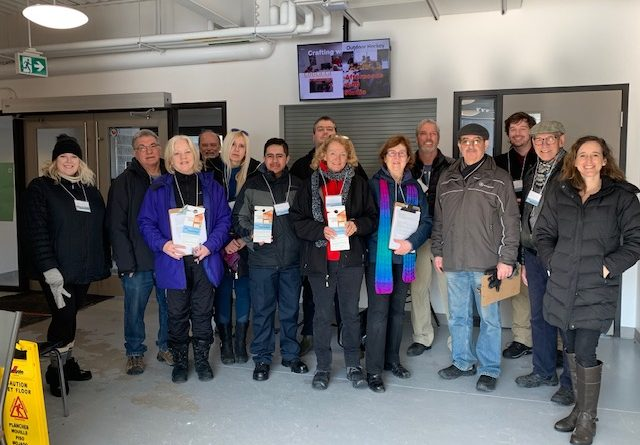 On Saturday, Feb. 22 around 20 WCDR volunteers and MP Karen McCrimmon went door-to-door in Constance Bay to check on residents' readiness for the 2020 spring freshet. Courtesy WCDR
