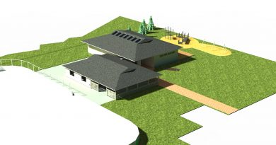 An artist's rendition of the Corkery community centre expansion. Courtesy the HCC