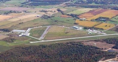 West Capital Development has begun the process to decommissioning one of two runways at the Carp Airport. Courtesy Michael Wilson