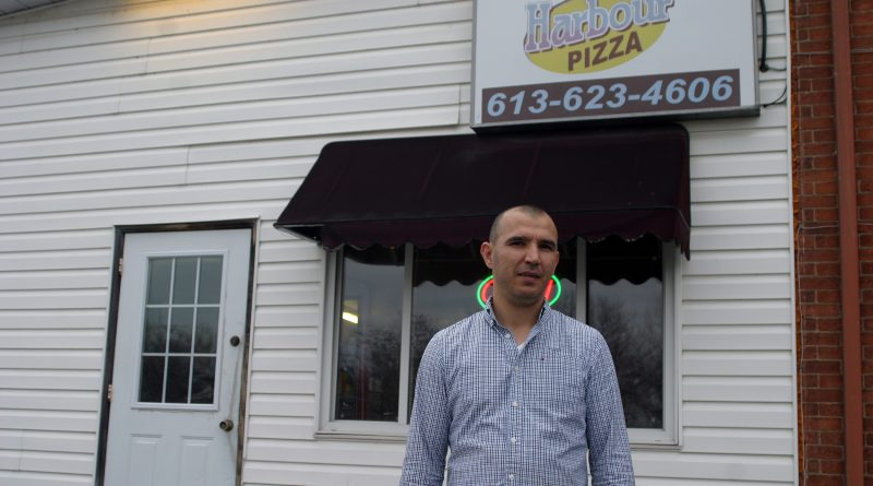 Harbour Pizza's Sammy Saad says he's good to his community and his community is good to him and that's the way it should be. Photo by Jake Davies