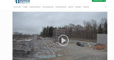 Arnprior Regional Health has made a live feed of the construction available to the public. Screen capture