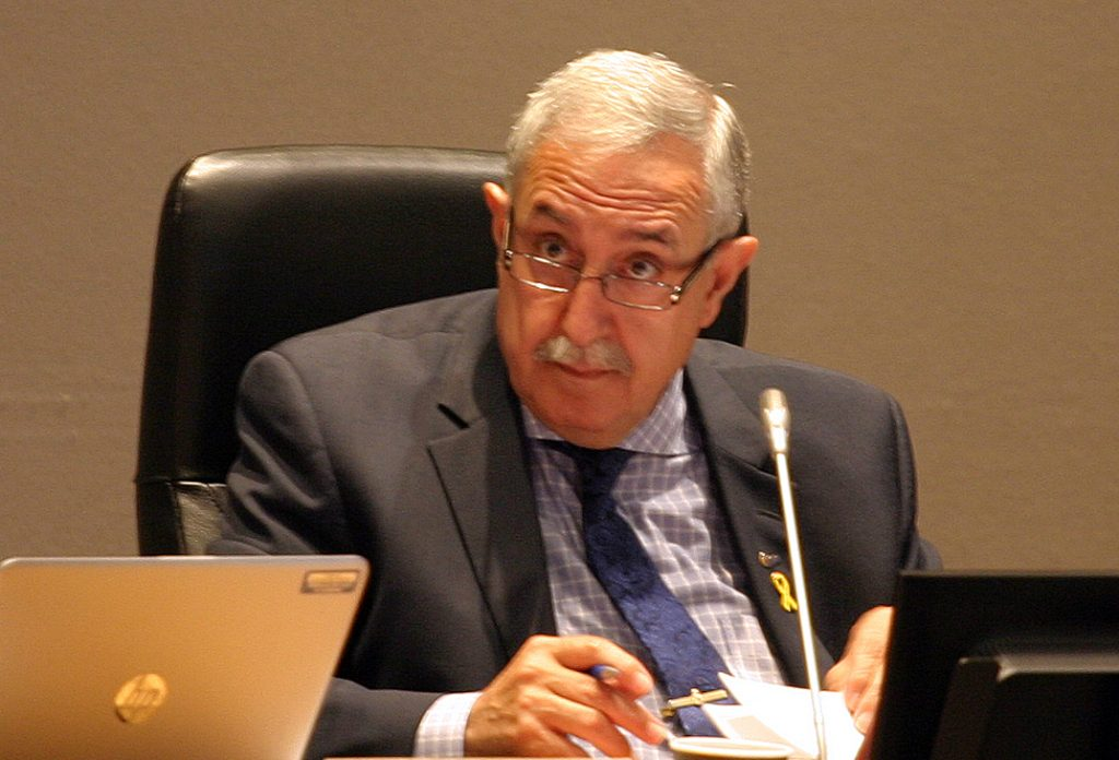 ARAC chair Coun. Eli El-Chantiry says 'when you have a good plan, that's not sprawl,' following yesterday's council vote to expand the urban boundary. Photo by Jake Davies