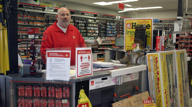 """Carp sales manager MIke Pisapio says opening the doors Saturday has been """"a big relief."""" Photo by Jake Davies"""