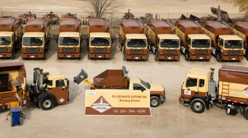 Miller Waste System's familiar brown and yellow trucks will be taking over waste collection in West Carleton starting June 1. Courtesy Miller Waste Systems